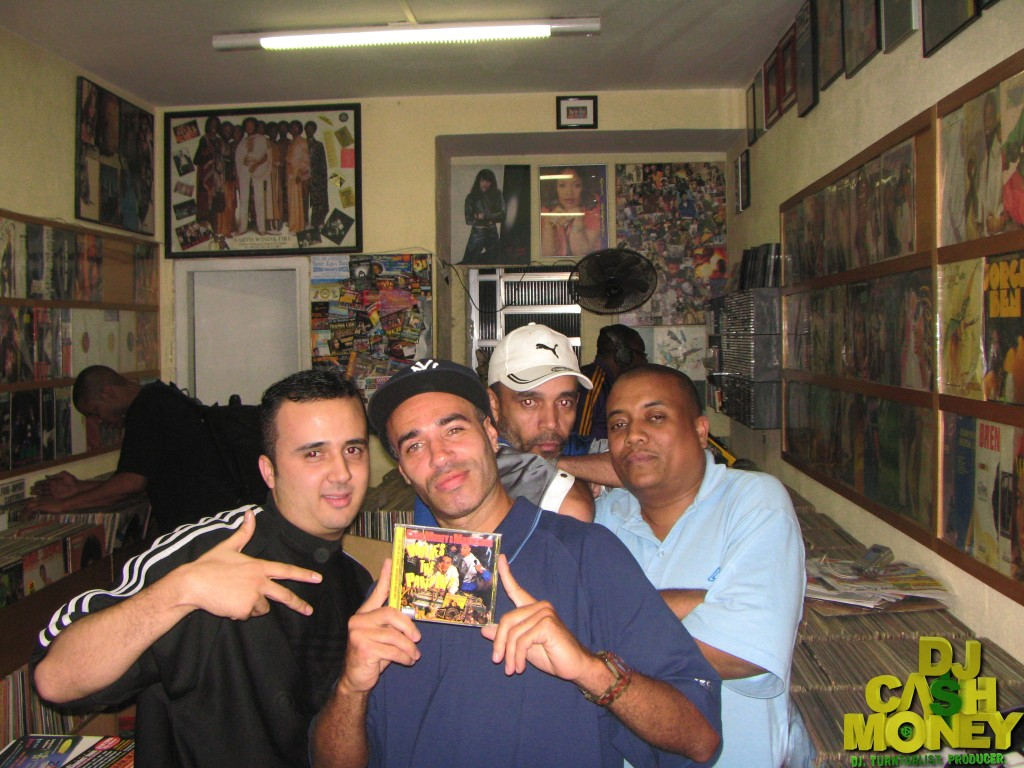 A record store in Brazil with my cd