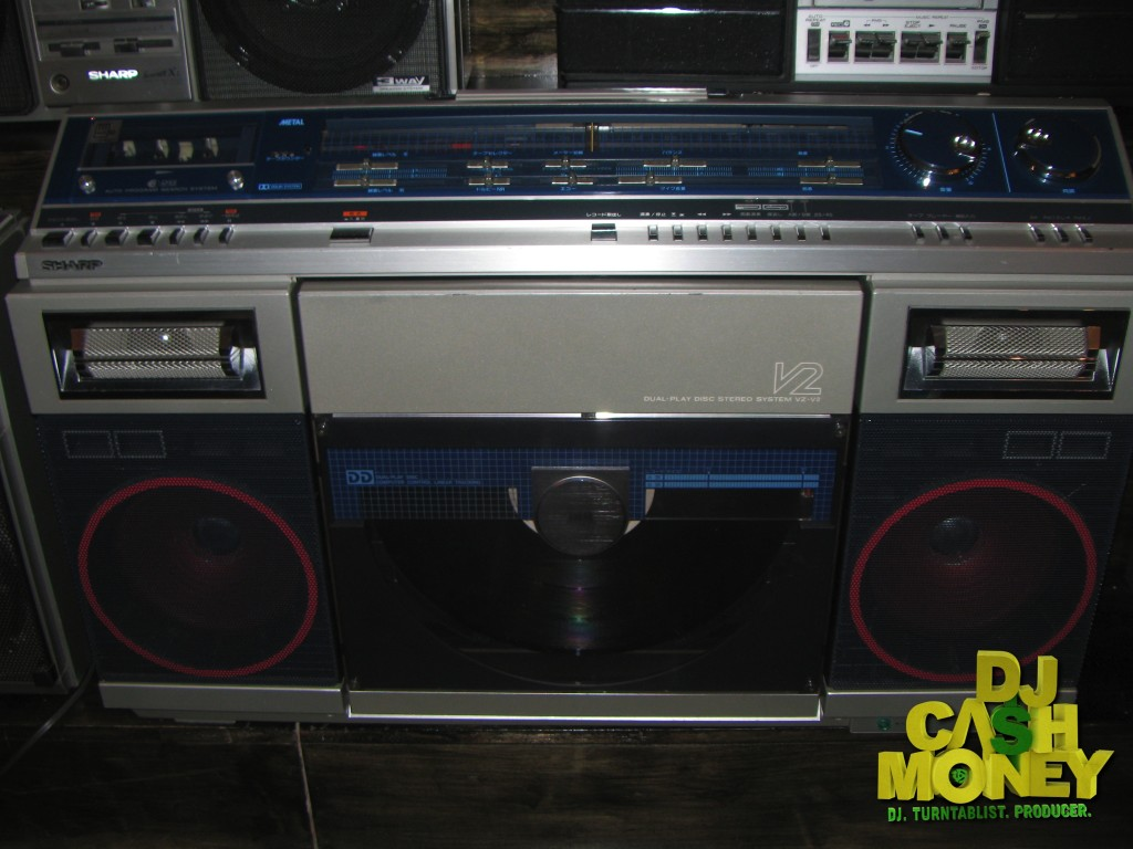 Another classic boombox from Sharp