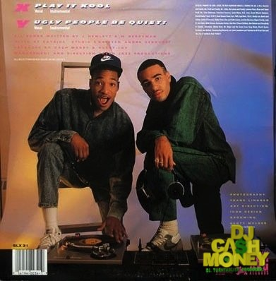 Cash Money & Marvelous - Play It Kool:Ugly People Be Quiet single cover