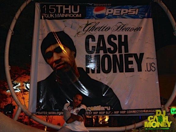 DJ Cash Money Huge Billboard