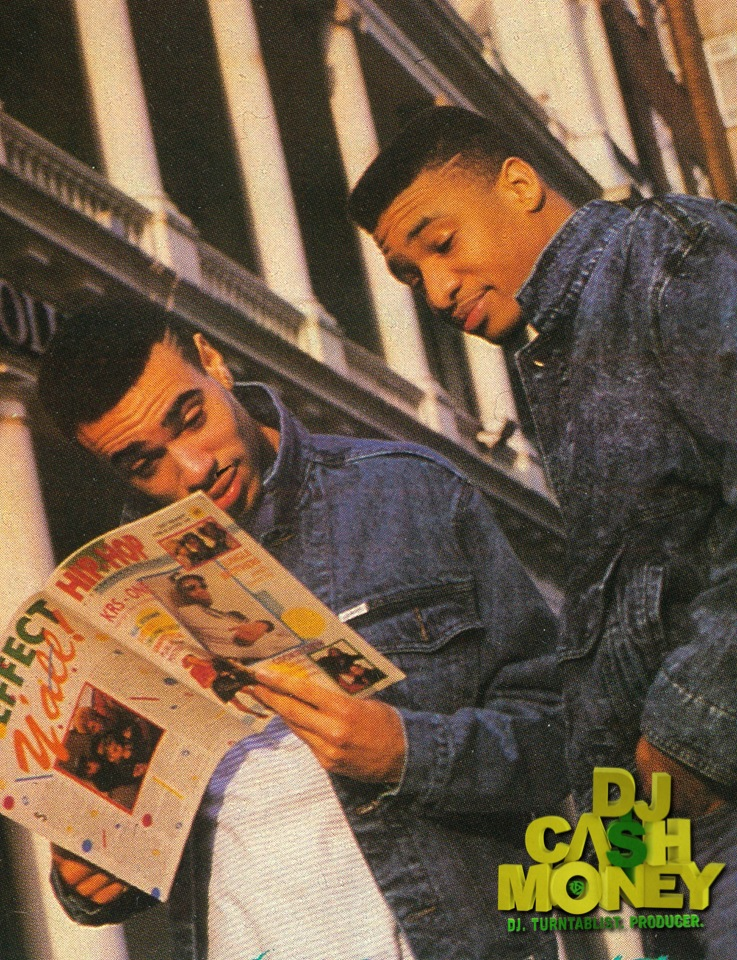 DJ Cash Money & Marvelous Hip Hop Connection Magazine