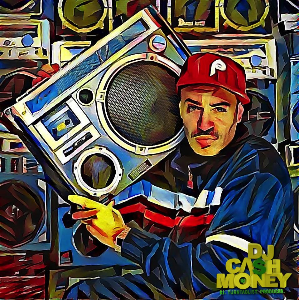 DJ Cash Money Mosiac Portrait