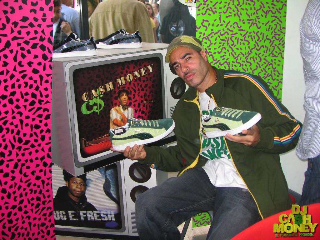 DJ Cash Money Puma Sneaker release