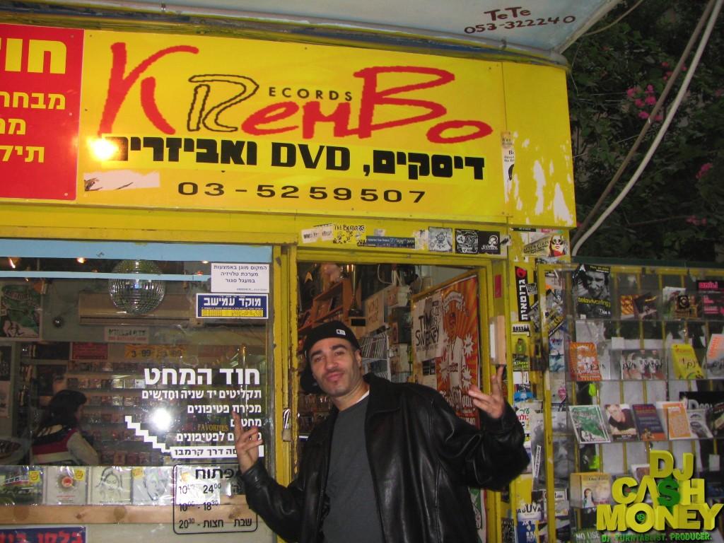 Diggin for records (Tel Aviv, Israel)
