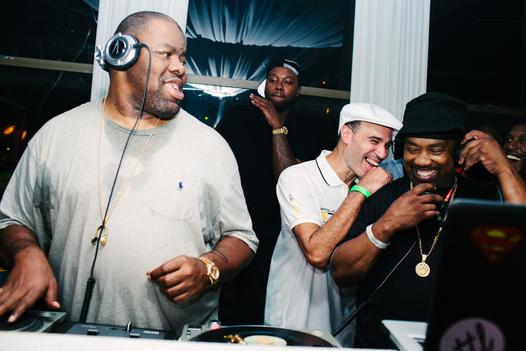 Everyone knows when Biz Markie + DJ Cash Money + Cool V get together to be ready to laugh until your stomach hurts...%22Pure Comedy%22