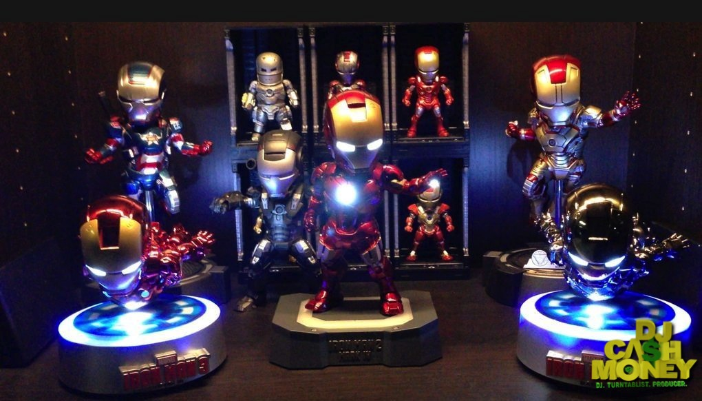 Iron Man Figure Collection