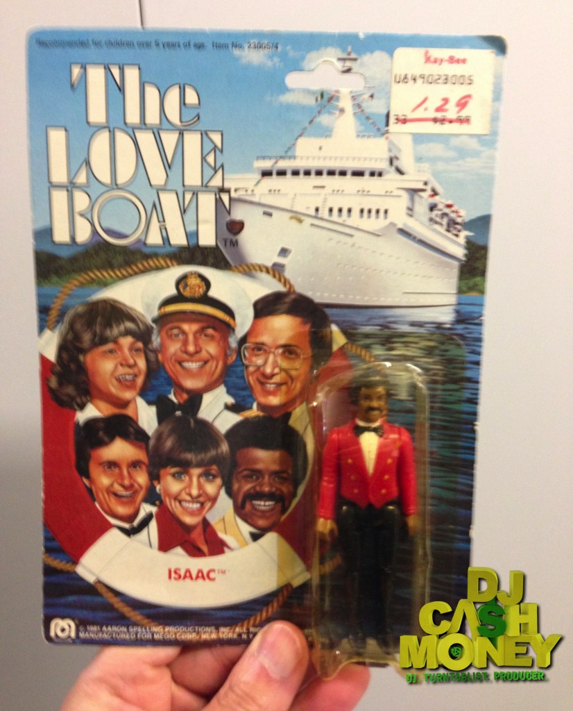 Isaac from %22The Love Boat%22 Figure