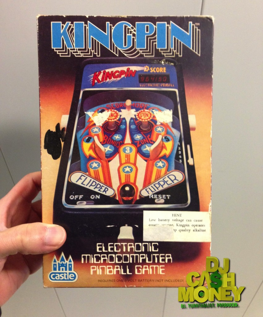 Kingpin Pinball Game