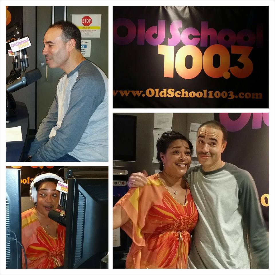 Me on Lady B's radio show..The airwaves were on fire this day..Great Times..