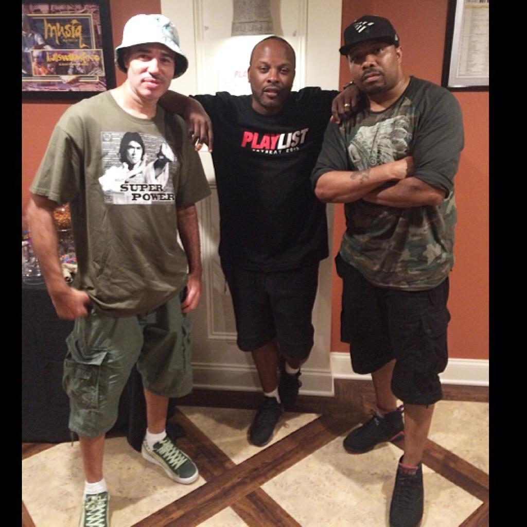 My great friends & DJ Brothers- Jazzy Jeff & DJ Scratch