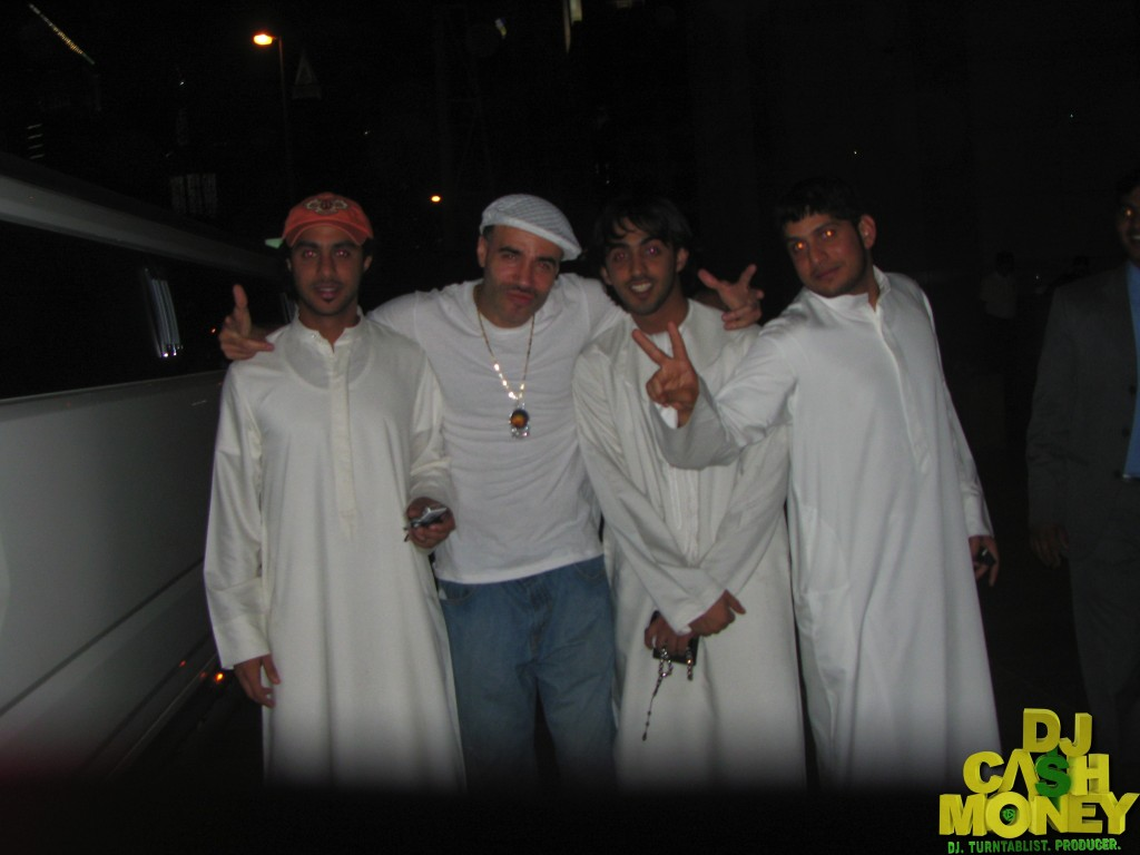 My homies from the Middle East (Don't we look like New Edition)