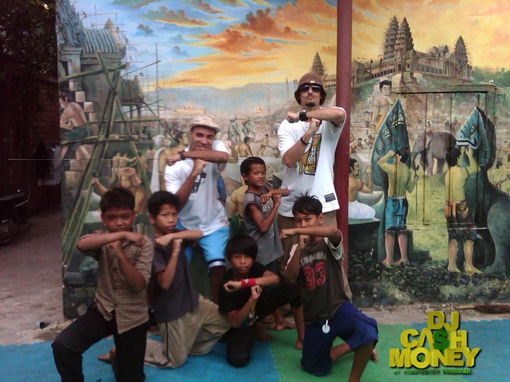 My lil homies (Tiny Toones, Cambodia)