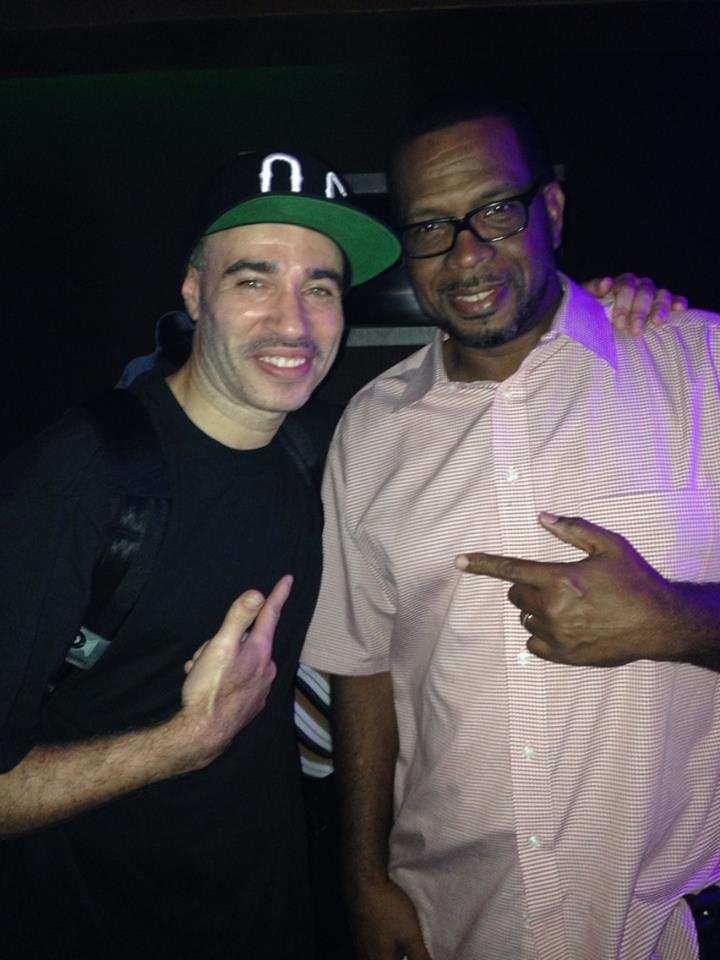 My main man Luke from 2 Live Crew..Some funny times with this dude over the years when we used to tour together..
