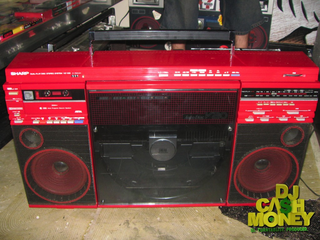 One of the rarest Boomboxes I have.Was only available in Japan