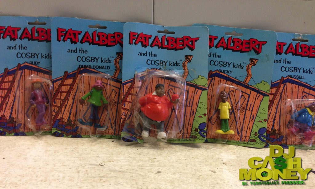 Original Fat Albert & The Cosby Kids Figures