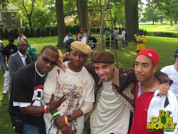 Philly DJ Legends (Jazzy Jeff,Miz,myself & Tat)