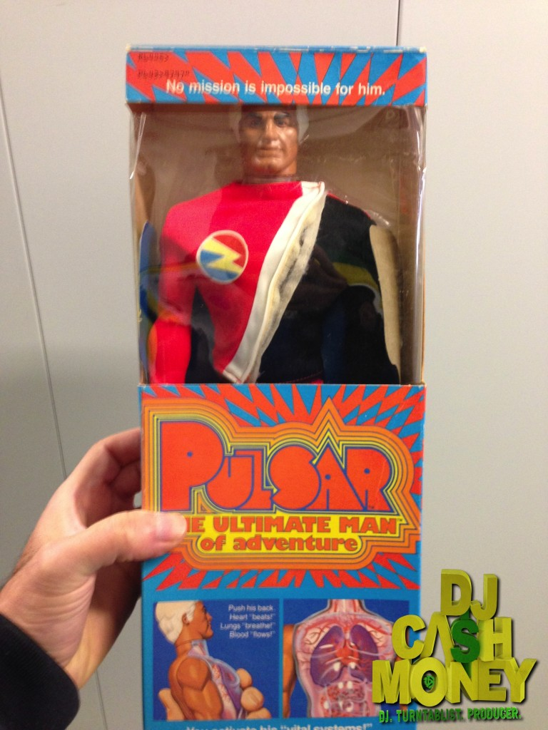 Pulsar Man Figure