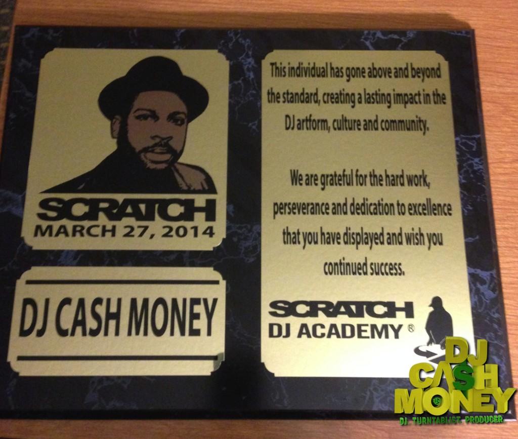 Scratch DJ Academy Award