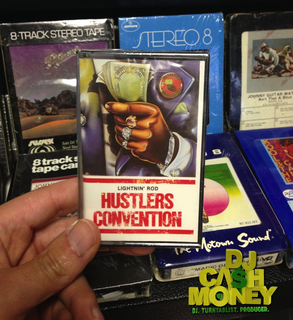 Sealed Hustlers Convention Cassette Tape