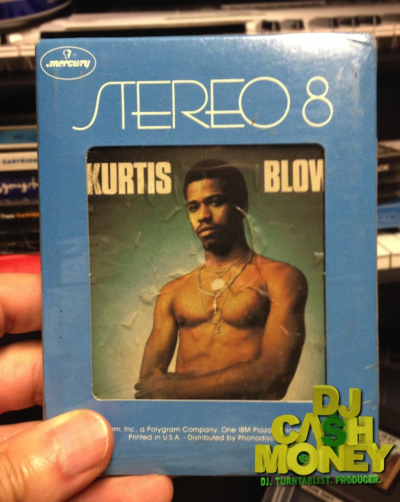 Sealed Kurtis Blow 8 Track Tape