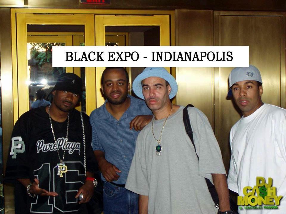 The Black Expo Indianapolis (Tyga,Brian Dennis & Alan Payne