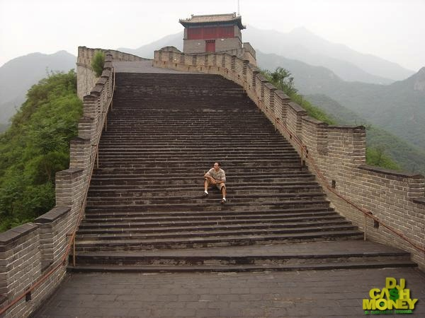 The Great Wall Of China steps..-1