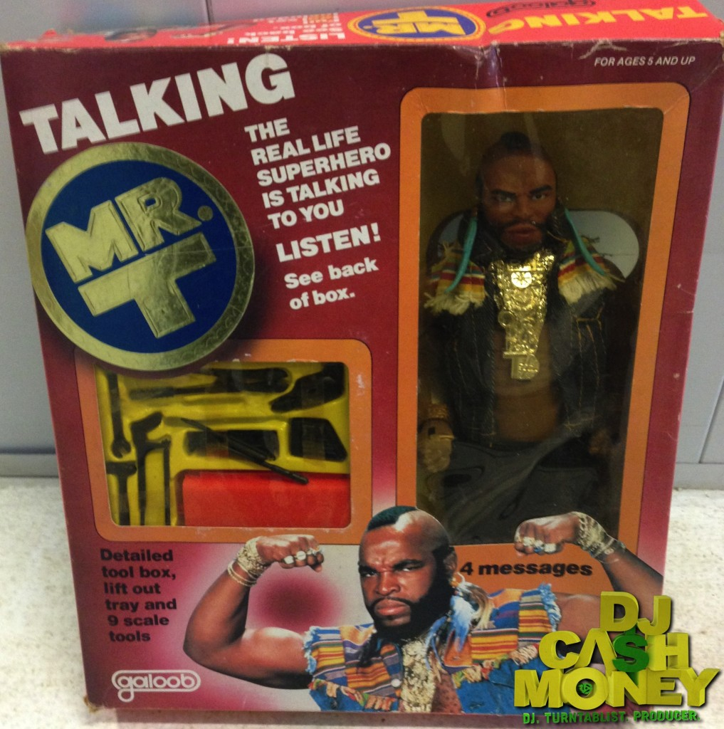 The Talking Mr. T figure