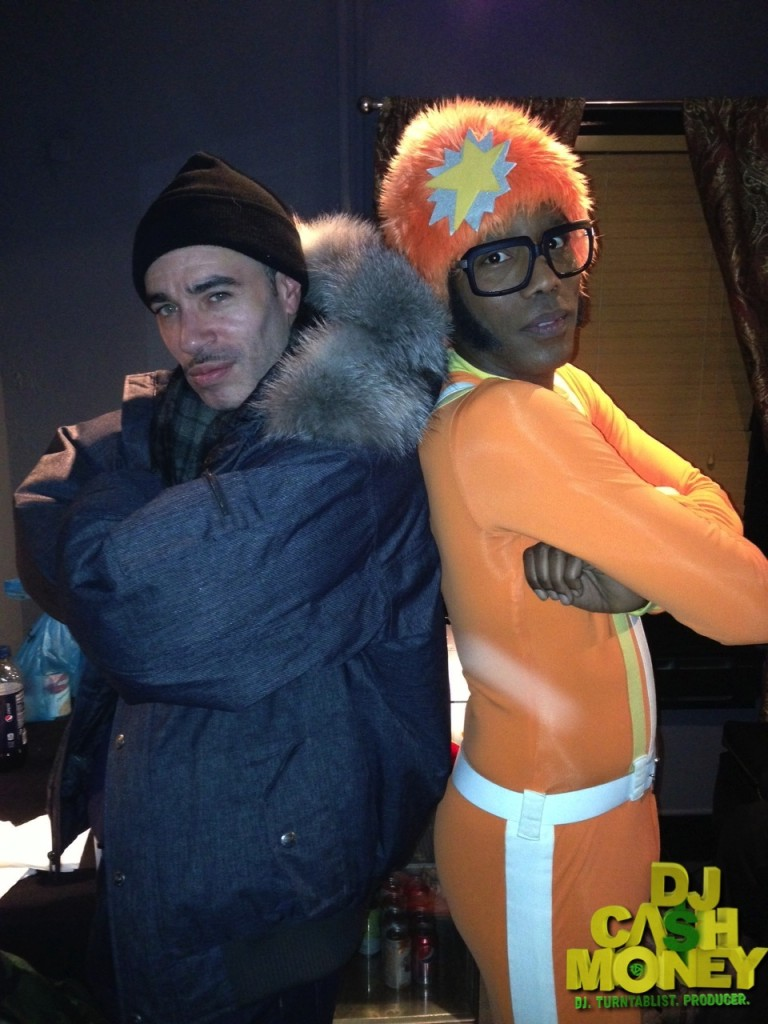 The homie DJ Lance Rock (Yo Gabba Gabba)
