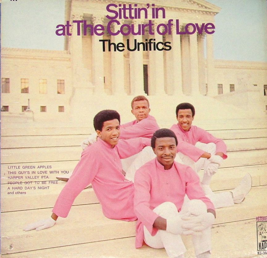 The sweet soul group The Unifics Album Cover