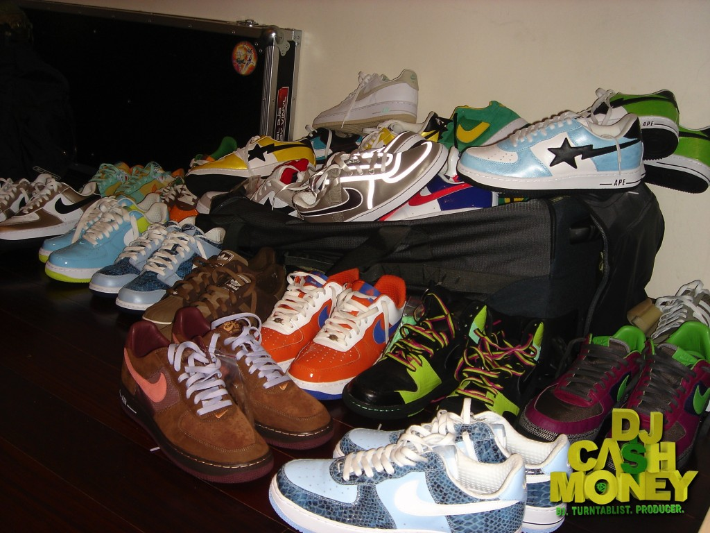 This is one day of sneaker shoppping..I am a sneakerholic