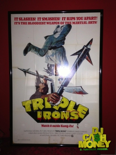 Triple Irons Kung Fu Poster