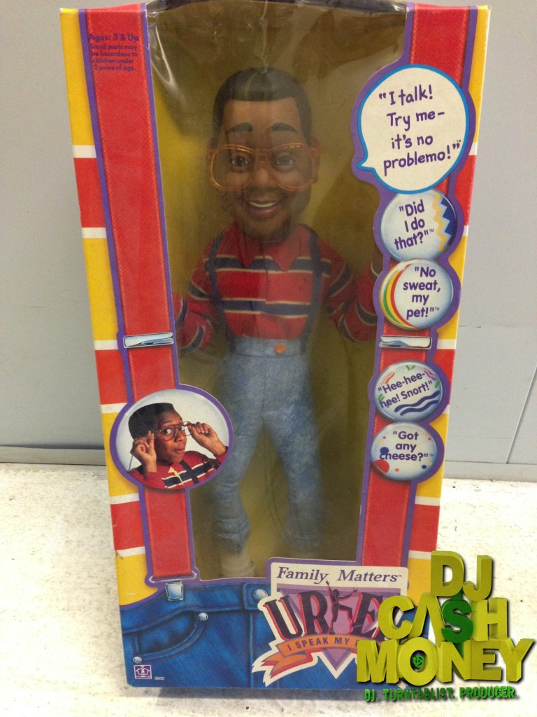 Urkel Talking Doll