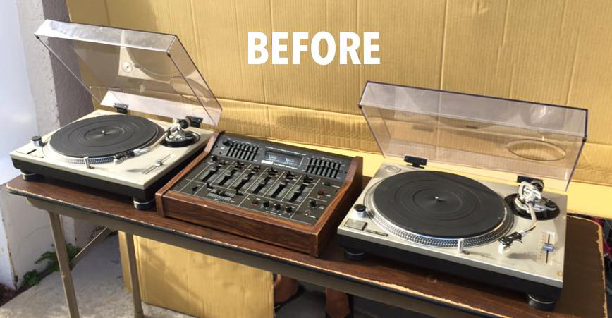 turntable-before